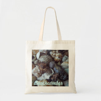 Tote bag reusable budget size with shell photo
