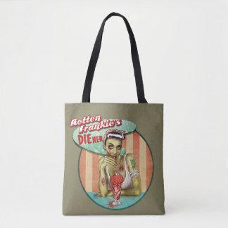 Tote Bag: Rotten Frankie's Tote Bag