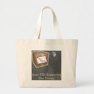 Tote Bag Supporting Our Troops CD- Supporting ...