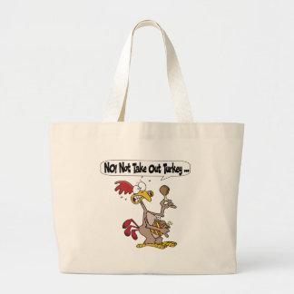 Tote Bag - Thanksgiving Take Out Turkey