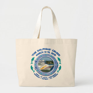 Tote Bag - The Dolphins' Cruise