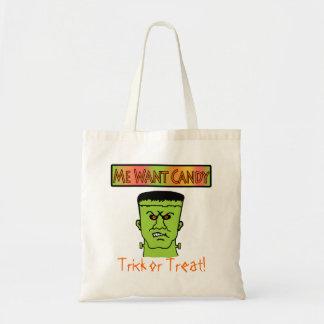 Tote Bag- Trick or Treat Budget Tote Bag