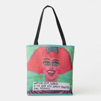 Tote bag- Watch out world! I've