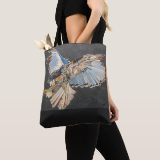 Tote bag with bird image