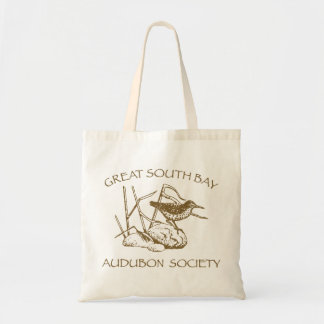 Tote Bag with Brown Logo