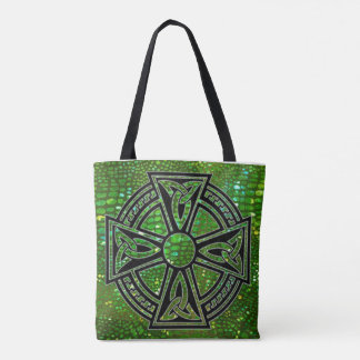 Tote Bag with Celtic Cross