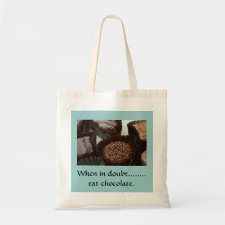 Tote Bag with Chocolate Design