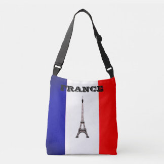 Tote Bag with Flag of France