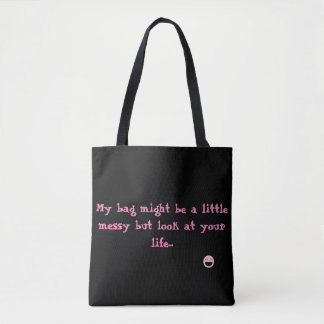 Tote bag with message