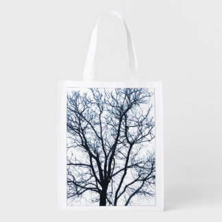 Tote Bag with Photo of Tree with Leafless Branches