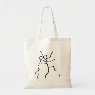 Tote bag with two Conga dancers