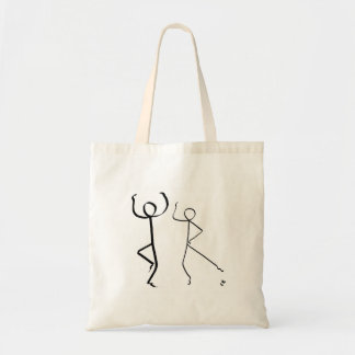Tote bag with two Highland dancers