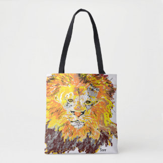 Tote Bags/  Lion