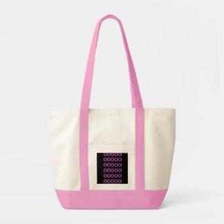 Tote - black and Pink Impulse Tote Bag