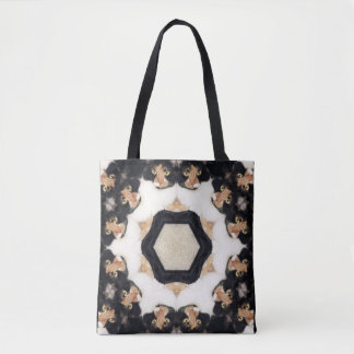 TOTE - Countless Calico Cats Kaleidoscope Design