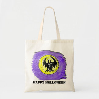 Tote -Halloween Bat Budget Tote Bag
