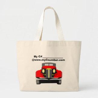 Tote MyC# Car-2 Canvas Bag