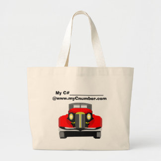 Tote MyC# Car-2 Jumbo Tote Bag