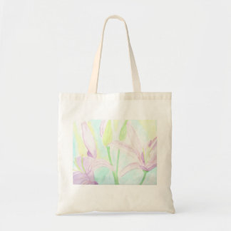 Tote - Pink Lily