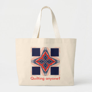 Tote- Quilting Anyone? 2 Tote Bags