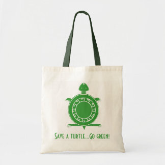 Tote- Save A Turtle Budget Tote Bag