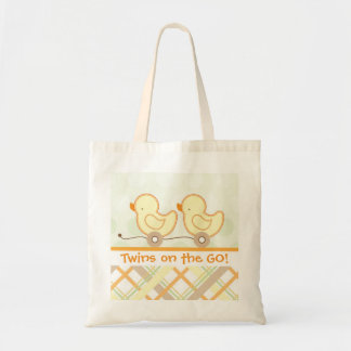 Tote - Twins on the go! Canvas Bag