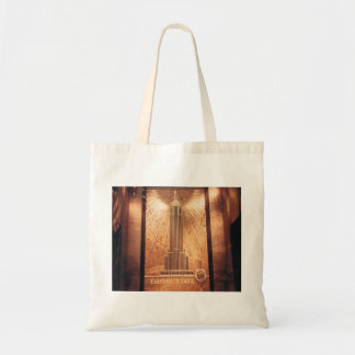 Tote with Empire State Building Design