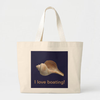 TOTE with Sea Shell on Navy