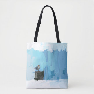 Tote with seagull - a Pool, Beach or Summer Tote