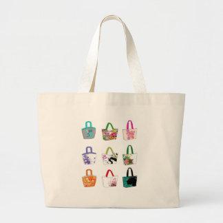 Tote with the Folowers Jumbo Tote Bag