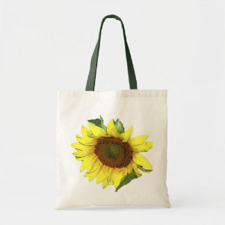 Tote Yellow Sunflower Canvas Bags