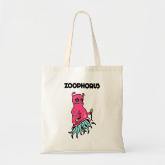 . Totebag adorned with a comic personage Tote Bag