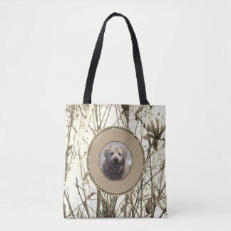 ToteBag with Golden Retriever Template Tote Bag