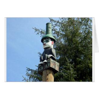 Totem Man Card