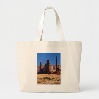 Totem Pole At Monument Valley Bags