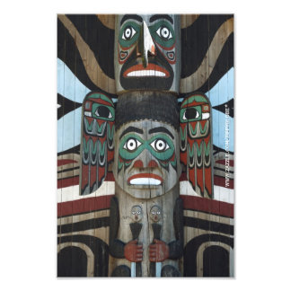 Totem Pole Photo Print