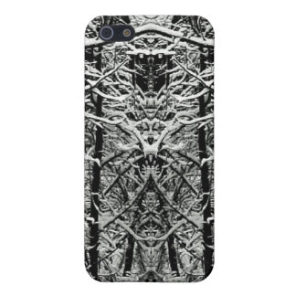 Totem Pole Trees Tangled Branches Art Photograph iPhone 5/5S Cases