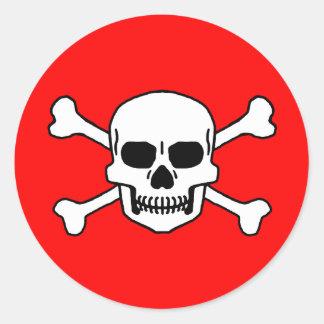 Totenkopf Classic Round Sticker
