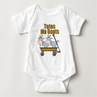Totes Ma Goats Baby Bodysuit