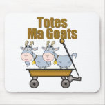 Totes Ma Goats Mouse Pads