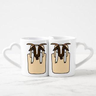 Totes ma Goats (No Text) Couples Mug