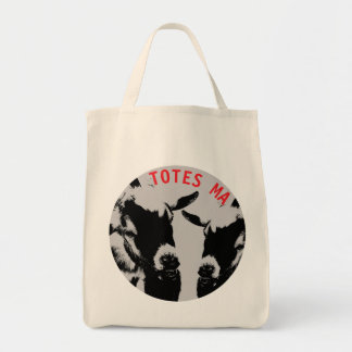 TOTES MAGOTES GROCERY TOTE BAG