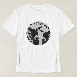 TOTES MAGOTES Mens White New Balance Workout Shirt