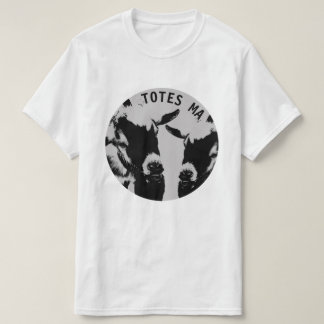 TOTES MAGOTES White Cotton Tee