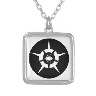 Totjo Square Pendant Necklace