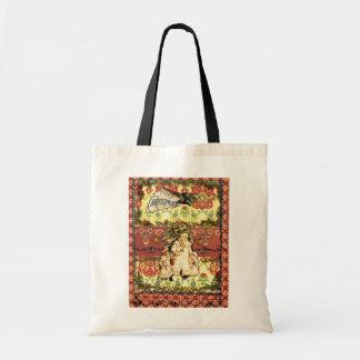toto Old Fashion Christmas Budget Tote Bag