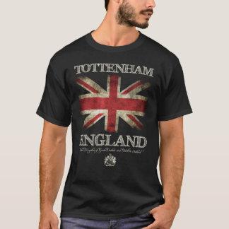 Tottenham England UK Flag T-Shirt