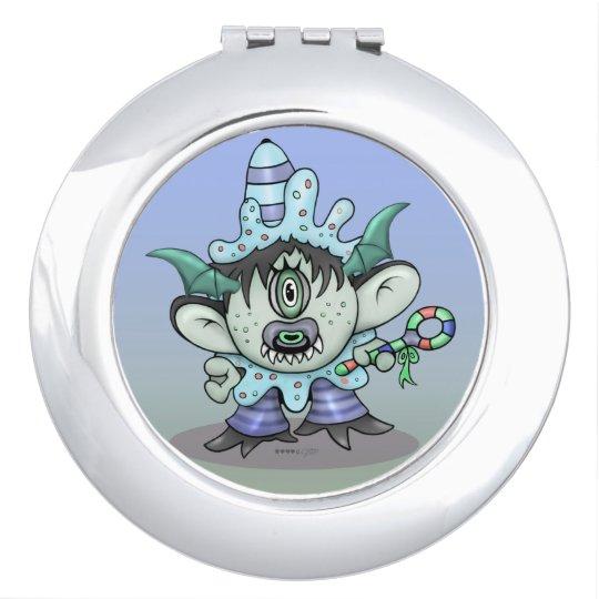 TOUBAKOU HALLOWEEN CARTOON compact mirror ROUND