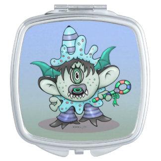 TOUBAKOU HALLOWEEN CARTOON compact mirror SQUARE