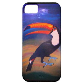 Toucan 2Can! handpainted iPhone 5 Cover